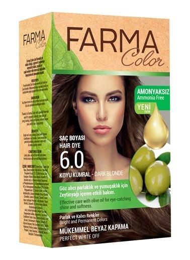 Farmasi Farmacolor Saç Boyası 6.0 Koyu Kumral Renksiz